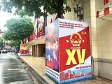 Lực lượng Công an toàn tâm, toàn lực bảo vệ tuyệt đối Ngày bầu cử