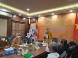 越南佛教协会向印度人民捐赠防疫物资