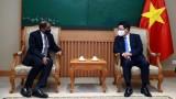 范平明副总理会见新加坡驻越南大使