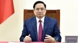 越南政府总理范明正与中国国务院总理李克强通电话