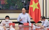 President chairs meeting on project on building socialist rule-of-law state