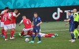 Eriksen đổ gục giữa trận Đan Mạch - Phần Lan