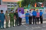 Liên đoàn Lao động TP.Thuận An thăm hỏi lực lượng tuyến đầu phòng, chống Covid-19