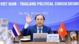 越泰第八次副外长级政治磋商以视频方式举行