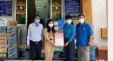 Công đoàn Khu công nghiệp Việt Nam – Singapore: Hỗ trợ nhu yếu phẩm trị giá hơn 200 triệu đồng cho điểm cách ly