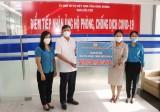 Tổng Liên đoàn Lao động Việt Nam ủng hộ tỉnh Bình Dương 500 triệu đồng phòng, chống Covid-19
