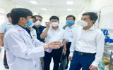 Bộ Y tế hỗ trợ Bình Dương điều trị bệnh nhân nặng