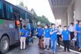 50 cán bộ, nhân viên y tế tỉnh Lào Cai đến hỗ trợ Bình Dương phòng, chống Covid-19