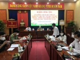 Nguyen Van Loi, Member of Party Central, Secretary of Provincial Party, Head of Provincial NA's delegation: Always stand side by side with the province in the anti-epidemic battle...