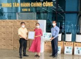 Ủy ban MTTQ Việt Nam tỉnh tiếp nhận trang thiết bị, vật tư y tế phòng, chống dịch