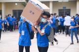 410 tình nguyện viên hỗ trợ công tác lấy mẫu sàng lọc Covid-19