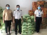 Hội nông dân TP.Thuận An: Tặng gạo cho người dân khó khăn bị ảnh hưởng bởi Covid-19