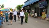 Thị ủy Tân Uyên: Nhiệm vụ cấp bách là khống chế dịch bệnh Covid-19