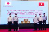 Thành phố Daejeon, Hàn Quốc và tỉnh Yamaguchi, Nhật Bản tặng 11.400 bộ kít test nhanh Covid-19