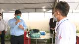 Bộ trưởng Bộ Y tế kiểm tra công tác phòng, chống dịch trên địa bàn TX.Tân Uyên và TP.Thuận An