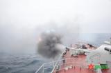 越南海军参赛队在AK 176舰炮射击比赛中夺得第一名
