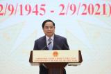Toàn văn bài phát biểu của Thủ tướng tại Lễ kỷ niệm 76 năm Quốc khánh