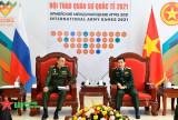 Bộ trưởng Phan Văn Giang tiếp Thứ trưởng Bộ Quốc phòng Nga