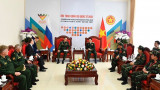国防部部长潘文江会见俄罗斯国防部副部长