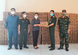 Quân ủy Trung ương, Bộ Quốc phòng tặng Bình Dương 5 tấn lương khô