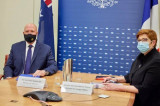 法国和澳大利亚反对一切使东海紧张局势升级的行为