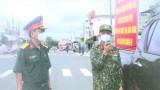 Lực lượng vũ trang tỉnh tiếp tục chú trọng công tác tuyên truyền phòng, chống dịch