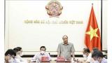 国家主席阮春福主持召开中央司法改革指导委员会运作模式完善会议