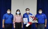 Trao quyết định kiện toàn chức danh Chủ tịch Hội LHTN Việt Nam tỉnh, khóa VII