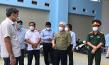 Provincial leaders conduct unscheduled inspection of anti-pandemic work in Thuan An and Di An cities