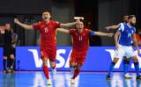 Đội tuyển Futsal Việt Nam thua Brazil trận đầu ra quân