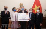 Tiếp nhận 1,5 triệu liều vaccine phòng COVID-19 từ Pháp và Italy
