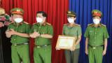 Công an TP.Thủ Dầu Một được Bộ trao bằng khen vì có thành tích xuất sắc trong phòng chống dịch