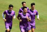 Đội tuyển Việt Nam tập làm quen với thời tiết khắc nghiệt