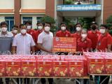 Trao tặng gần 1.000 phần quà Trung thu cho trẻ em trong khu cách ly điều trị Covid-19