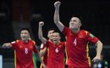 Cầm hòa CH Czech, đội tuyển Futsal Việt Nam giành vé vào chơi vòng 1/8