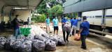Thanh tra giao thông tỉnh hỗ trợ hơn 15 tấn nông sản cho người dân TP.Thủ Dầu Một
