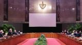 越南国家主席阮春福与古巴国家主席迪亚斯·卡内尔举行会谈
