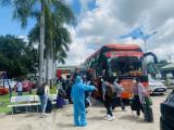 Chuyến xe yêu thương đưa sinh viên Bình Dương sinh sống, học tập tại TP.Hồ Chí Minh trở về nhà