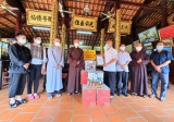 The Central Bhikkhuni Sub-Committee supports resources for Covid-19 epidemic prevention and control