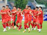 Tuyển thủ U22 Việt Nam cạnh tranh vị trí tham dự vòng loại U23 châu Á 2022