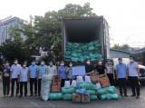 Tiếp nhận 25 tấn gạo từ Hội Nông dân Hải Phòng