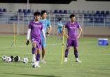 Đội trưởng Quế Ngọc Hải bình phục chấn thương trước trận gặp Oman